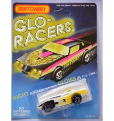 Matchbox Glo Racers Corvette