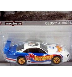 Hot Wheels Racing - 2012 Muscle - Oldsmobile Aurora GTS-1 Race Car
