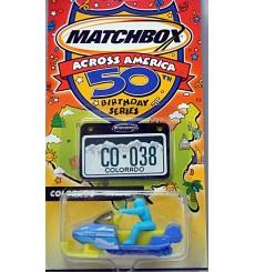 Matchbox Across America - Colorado Snowmobile