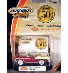 Matchbox Collectibles - MB 50th Anniversary Series - 1955 Chevrolet Bel Air Convertible