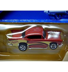 Hot Wheels Pavement Pounders - 1957 Chevy Belair and Transporter