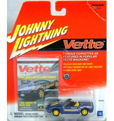 Johnny Lightning Vette Magazine – 1998 Chevrolet Corvette Indy 500 Pace Car
