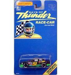 Matchbox - Days of Thunder Cole Trickle Mello Yellow NASCAR Stock Car