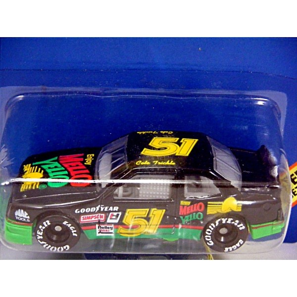 Matchbox Days Of Thunder Cole Trickle Mello Yellow Nascar Stock