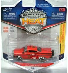 Jada Badge City Heat - 1959 Chevrolet Impala Fire Chief
