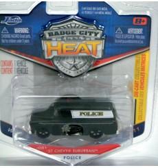 Jada Badge City Heat - 1957 Chevrolet Suburban Police Truck