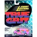 Johnny Lightning True Grit - PEZ GMC Savanna  Van