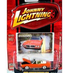 Johnny Lightning Muscle Cars - 1969 Pontiac Firebird 400 Convertible