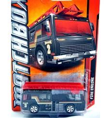 Matchbox Dennis Ladder Fire Truck