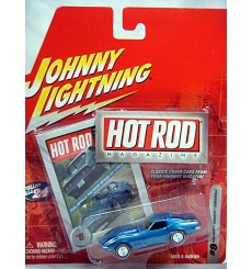 Johnny Lightning Hot Rod Magazine - 1968 Chevrolet Corvette (Error Card)