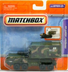 Matchbox Working Rigs - Military Oshkosh HEMTT A4