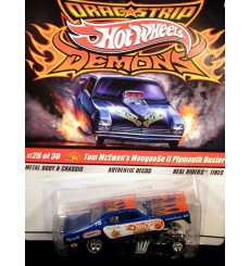 Hot Wheels Dragstrip Demons Tom McKewen Mongoose II Duster NHRA Funny Car