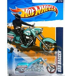 Hot Wheels - Bad Bagger - Parking Enforcement Motorcycle