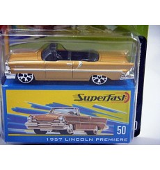 Matchbox 35th Anniversary Superfast 1957 Lincoln Premiere Convertible