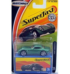 Matchbox 35th Annivesary Superfast - TVR Tuscan S Sports Car