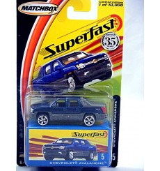 Matchbox 35th Superfast - Chevrolet Avalanche Pickup Truck
