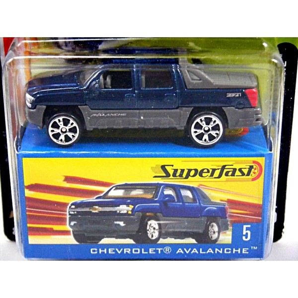 Matchbox 35th Superfast - Chevrolet Avalanche Pickup Truck - Global Diecast Direct