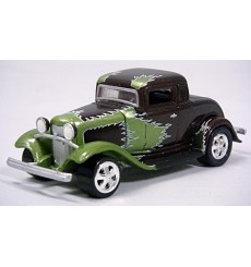 Johnny Lightning - Car Craft Magazine Series - 1932 Ford Deuce Coupe