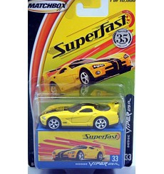 Matchbox 35th Anniversary Superfast Dodge Viper RT10