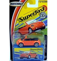 Matchbox - 35th Anniversary Superfast - Volkswagen Beetle Cabriolet