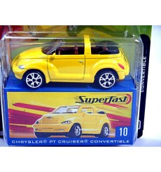 Matchbox - 35th Anniversary Superfast - Chrysler PT Cruiser Convertible