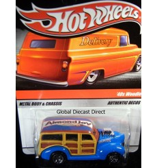 Hot Wheels Delivery - Sweet Rides Almond Joy 1940's Ford Surf Woodie