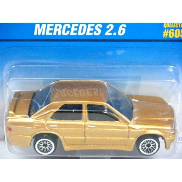 Hot wheels rare mercedes benz 2 6 190e sedan global for Hot wheels mercedes benz