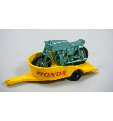 Matchbox Regular Wheels - Honda Motorcycle and Trailer