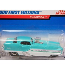 Hot Wheels 2000 First Edtion Nash Metropolitan NHRA Dragster