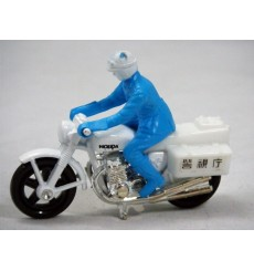 Matchbox - Honda 750 Police Motorcycle (Japan Issue)