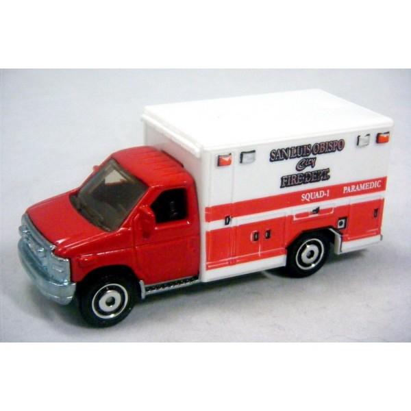 Matchbox Ford E350 Ambulance Matchbox Ford E350 San Luis