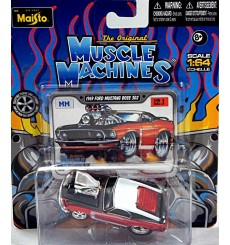 Maisto - The Original Muscle Machines Series - 1969 Ford Mustang Boss 302