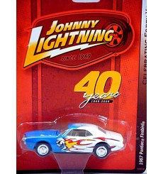 Johnny Lightning 40th Anniversary R-7: 1967 Pontiac Firebird