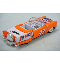 Racing Champions Stock Rods - Lance Snacks NASCAR 1957 Chevy Convertible