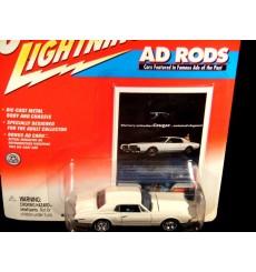 Johnny Lightning Ad Rod Series 1967 Mercury Cougar