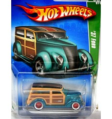 Hot Wheels Super Treasure Hunt - 1937 Ford Woody Station Wagon