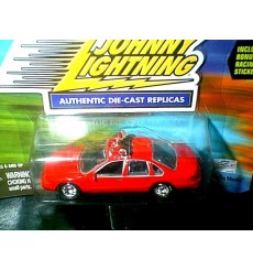 Johnny Lightning Lightning Speed Chevrolet Caprice Fire Chief Car