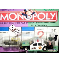 Johnny Lightning Monopoly Ford Crown Victoria Go To Jail Police Car