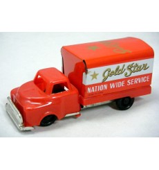 Japanese Postwar Tin Toys - Gold Star Nationwide Freight Truck