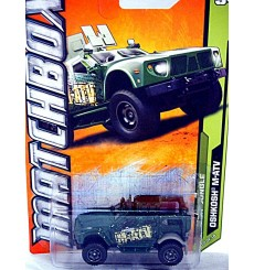 Matchbox - Oshkosh M-ATV Military Armored 4x4