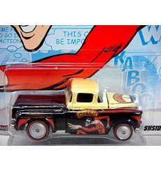 Hot Wheels DC Comics - Plastic Man 1956 Chevy Flashside Pickup Truck