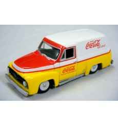 Johnny Lightning Coca Cola Delivery Series - 1955 Ford Panel Truck