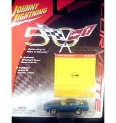 Johnny Lightning Corvette 50th Anniversary – 1988 Chevrolet Corvette Coupe