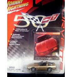 Johnny Lightning Corvette 50th Anniversary – 1985 Chevrolet Corvette Coupe