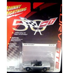 Johnny Lightning Corvette 50th Anniversary – 2000 Chevrolet Corvette Convertible