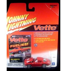 Johnny Lightning Vette Magazine – 1963 Chevrolet Corvette Stingray Split Window Coupe