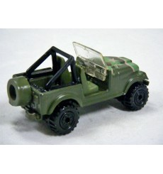 Hot Wheels Action Command - Military Jeep CJ-7