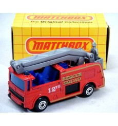Matchbox - Rescue Squad Snorkel Fire Engine