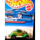 Hot Wheels 1934 Ford 3 Window Coupe