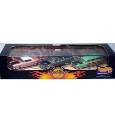 Hot Wheels Collectibles - 1988 Hard Rock Cafe Cadillac Set